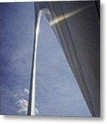 Gateway Arch Opus 4 Metal Print