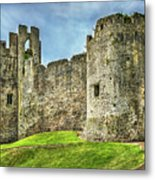Gateway To Chepstow Castle Metal Print