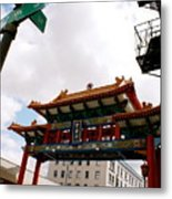 Gateway To Chinatown Metal Print