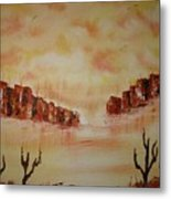 Gateway To Eternity Metal Print