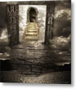 Gateway To Heaven Metal Print by Andy Frasheski