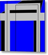 Gateway To Life - Blue Metal Print