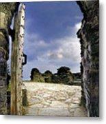 Gateway To The Castle  Metal Print
