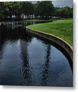 Gateway To The West Metal Print
