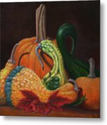 Gathering Of The Gourds Metal Print