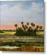 Gathering Of The Palms Metal Print