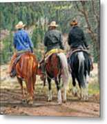 Gathering Pine Ridge Metal Print