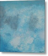 Gathering Storm Clouds   Metal Print