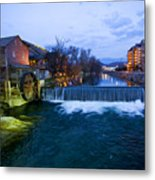 Gatlinburg Mill Metal Print