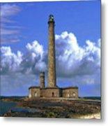 Gatteville Lighthouse Metal Print