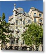 Casa Batillo - Gaudi Designed  - Barcelona Spain Metal Print