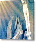 Gaudi Crucifixion Metal Print