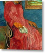 Gauguin: Reverie, 1891 Metal Print