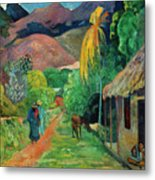 Gauguin Tahiti 19th Century Metal Print