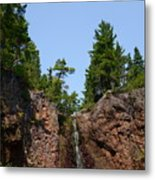 Gauthier Falls In Late August Metal Print