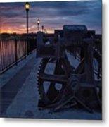 Gears At Daybreak  Metal Print