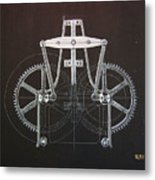 Gears No2 Metal Print