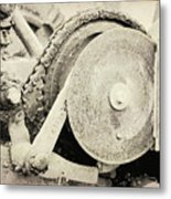 Gears Nuts And Bolts Metal Print