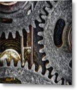Gears Of Life Metal Print