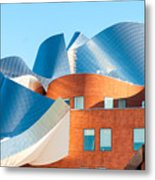 Gehry Architecture Metal Print