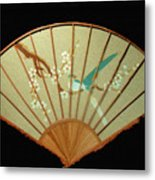 Geisha Sunrise Metal Print