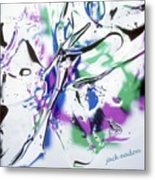 Gel Art #12 Metal Print
