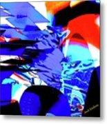 Blue Narcissus Metal Print