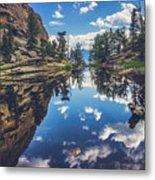 Gem Lake Reflections Metal Print