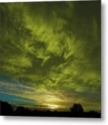 Gem Sunset Metal Print