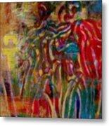 Gemini Abstract Metal Print
