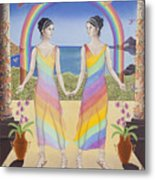 Gemini / Iris And Arke Metal Print