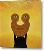 Gemini. Self-portrait Metal Print