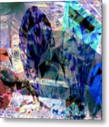 Gems Of Ice Metal Print