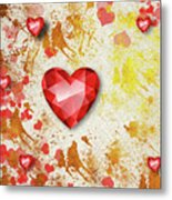 Gemstone - 7 Metal Print
