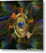 Gemstone For Christmas Metal Print by Spirit Dove  Durand