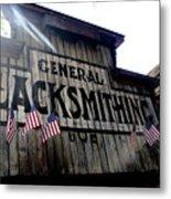 General Blacksmithing Metal Print