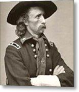 General Custer Metal Print