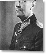 General Friedrich Wilhelm Ernst Paulus 1942 Metal Print
