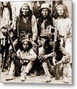 General George Cook Apache Army Metal Print