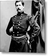 General George Mcclellan Metal Print by War Is Hell Store