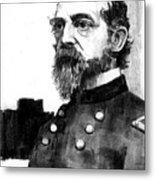 General George Meade Metal Print