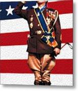 General George S. Patton Metal Print