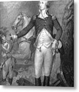 General George Washington At Trenton Metal Print