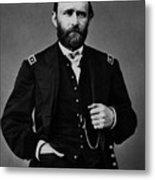 General Grant During The Civil War Metal Print