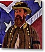 General Jeb Stuart Of Vmi Metal Print