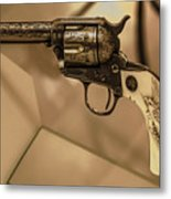 General Patton's Model 1873 Colt 45 Revolver  Metal Print