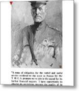 General Pershing - United War Works Campaign Metal Print