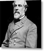 General Robert E Lee - Csa Metal Print by Paul W Faust -  Impressions of Light