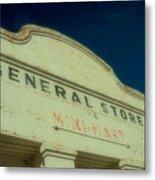 General Store Metal Print