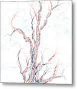 Genetic Branches Metal Print